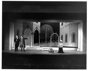 Primary view of object titled '[Act 1, Scene 1 of My Fair Lady, 1964 #3]'.