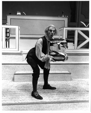 Primary view of object titled '[Adam Hester in 1776 Musical]'.