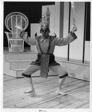 Primary view of object titled '[Mark Faulkner in The King and I]'.