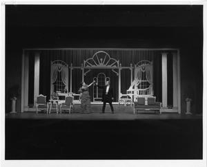 Primary view of object titled '[Susan Mansur and Skip Latson in The Unsinkable Molly Brown]'.