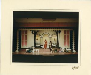 Primary view of object titled '[Six Actors in Kiss Me, Kate]'.