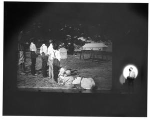 Primary view of object titled '[Charlie Reflects on His Wife's Death in Shenandoah #2]'.