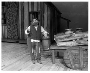 Primary view of object titled '[Actor in Fiddler on the Roof, 1972]'.