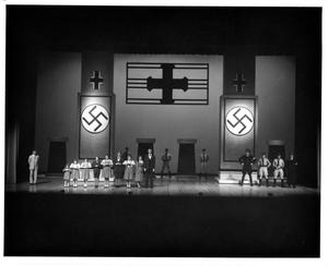 Primary view of object titled '[Von Trapp Family Singing Before Nazi Officials in The Sound of Music, 1983 #2]'.