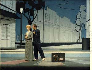 Primary view of object titled '[Photograph from The Music Man, 1963]'.
