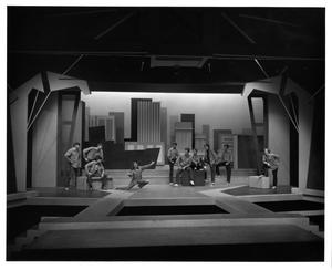 Primary view of object titled '[Girl Sings with Gang in West Side Story #2]'.