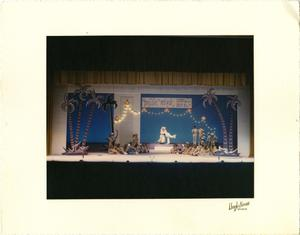 Primary view of [Luther and Nellie Perform While the G.I.'s and Nurses Look on in South Pacific Musical]