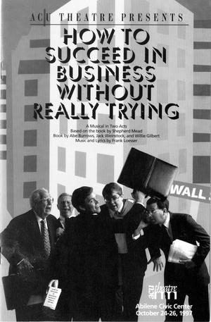 Primary view of [Program: How to Succeed in Business Without Really Trying, 1997]