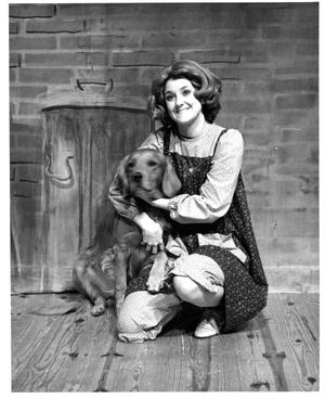 Primary view of object titled '[Annie and the Dog in Annie, 1986]'.