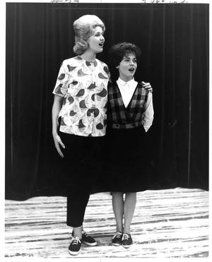 Primary view of object titled '[Donna Rankin and Jane Bacon from The Music Man, 1963]'.