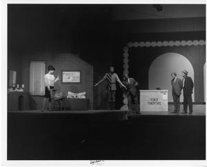 Primary view of object titled '[Five Actors in Kiss Me, Kate ]'.