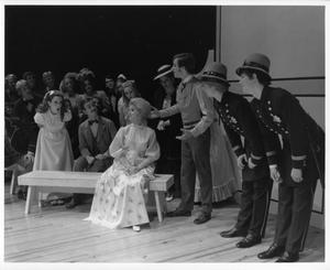 Primary view of object titled '[Hello, Dolly! Courtroom Scene #3]'.