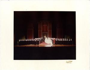 Primary view of object titled '[Von Trapp Wedding in The Sound of Music, 1983]'.