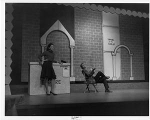Primary view of object titled '[Two Actors in Kiss Me, Kate #2]'.