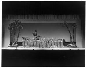 Primary view of [Nellie and the Nurses in South Pacific Musical]