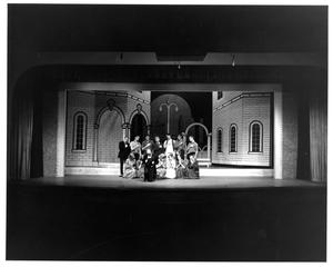 Primary view of object titled '[Group Photograph from My Fair Lady, 1964 #4]'.