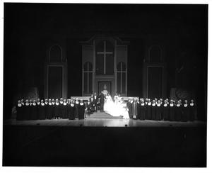 Primary view of object titled '[Von Trapp Wedding in The Sound of Music, 1983 #2]'.