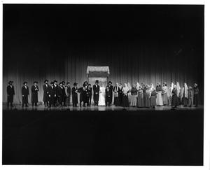 Primary view of object titled '[Wedding Scene in Fiddler on the Roof, 1972 #2]'.