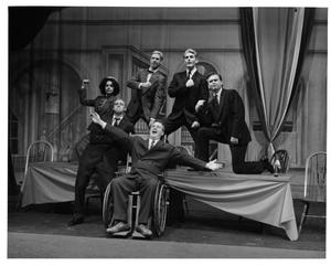 Primary view of object titled '[Franklin D. Roosevelt and His Cabinet in Annie, 1986]'.