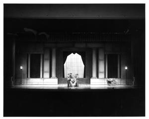 Primary view of object titled '[Act 1, Scene 1 of My Fair Lady, 1977 #4]'.