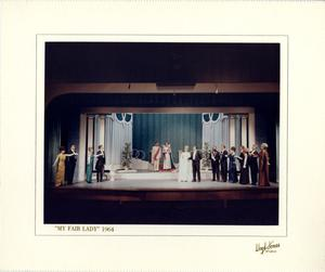 Primary view of object titled '[Act 1, Scene 10 of My Fair Lady, 1964]'.