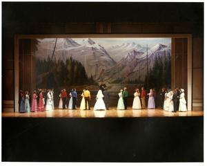 Primary view of object titled '[Wedding Scene in Seven Brides for Seven Brothers #2]'.