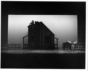Primary view of object titled '[Opening Number of Fiddler on the Roof, 1972]'.