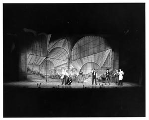 Primary view of object titled '[Act 2, Scene 3 of My Fair Lady, 1977]'.