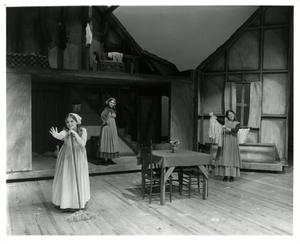 Primary view of object titled '[Three Sisters in Fiddler on the Roof, 1972]'.