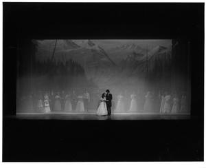 Primary view of object titled '[End of the Wedding Scene in Seven Brides for Seven Brothers #2]'.