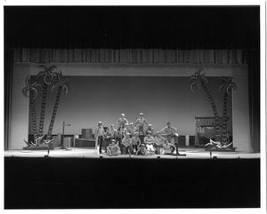 Primary view of object titled '[Sailors in South Pacific Musical]'.
