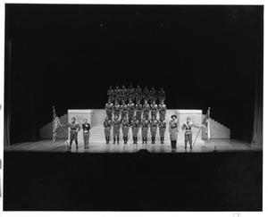 Primary view of object titled '[Army Scene in Like Stars Shining Brightly #2]'.