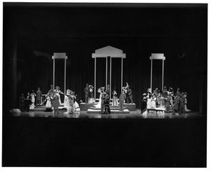 Primary view of object titled '[Act 1, Scene 6 of My Fair Lady, 1977]'.
