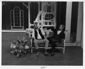 Primary view of object titled '[Two Actors in The Unsinkable Molly Brown #5]'.
