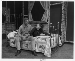 Primary view of object titled '[Two Actors in The Unsinkable Molly Brown #6]'.