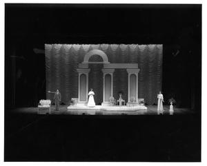 Primary view of object titled '[Act 2, Scene 5 of My Fair Lady, 1977]'.