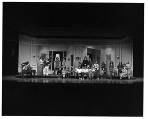 Primary view of object titled '[Group Photograph from My Fair Lady, 1977 #2]'.