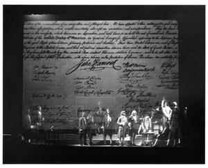 Primary view of object titled '[Second Continental Congress in 1776 Musical #2]'.