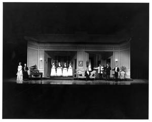 Primary view of object titled '[Group Photograph from My Fair Lady, 1977]'.