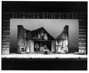 Primary view of object titled '[Jim Vaughan and Family in Fiddler on the Roof, 1972]'.