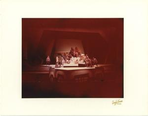Primary view of object titled '[Ensemble Photograph from Man of La Mancha, 1974]'.