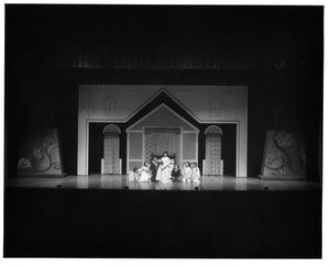 Primary view of object titled '[Maria and Children Together in The Sound of Music, 1983]'.