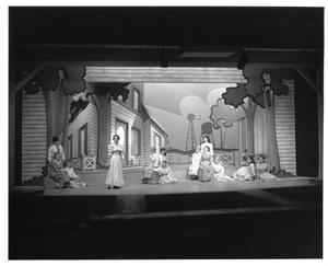 Primary view of object titled '[Lead Actress and Ensemble in Oklahoma!]'.