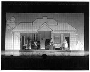 Primary view of object titled '[Act 1, Scene 4 of The Music Man, 1979]'.