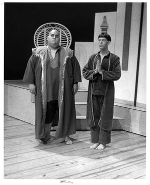 Primary view of object titled '[Two Men in The King and I]'.