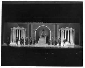 Primary view of object titled '[Harmonia Gardens Restaurant from Hello, Dolly! #2]'.