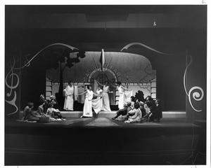 Primary view of object titled '[Photograph from The Music Man, 1963 #6]'.