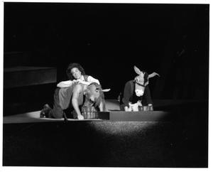 Primary view of object titled '[Three Actors in Man of La Mancha, 1974 #2]'.