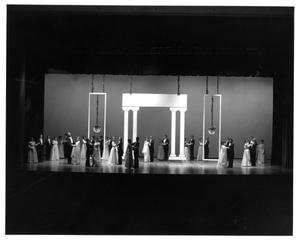 Primary view of object titled '[Act 1, Scene 10 of My Fair Lady, 1977 #3]'.