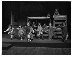 Primary view of object titled '[Orphans in the Orphanage in Annie, 1986]'.